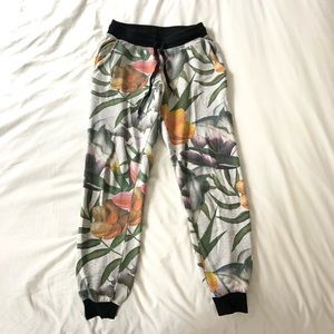 Floral Joggers from Forever 21